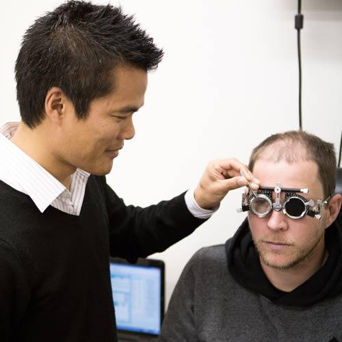 Eye Test East Maitland by J & J Optical optometrist Jason Tang